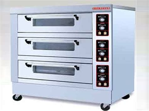 Oven Gas Berjaya gas baking oven excel refrigeration bakery equipment manufacturers of bakery machinery