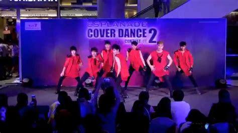 tutorial dance infinite back 150614 nicholas cover infinite back esplanade cover