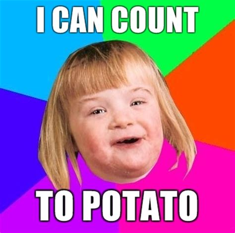 Meme Potato - image 128749 i can count to potato know your meme