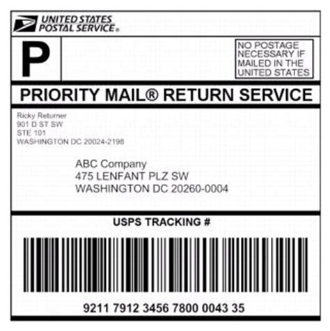 Policies Procedures And Forms Updates Merchandise Return Label Template