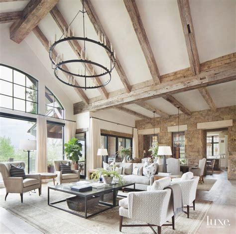 mountain home interior design a colorado mountain home gets elevated charm luxe