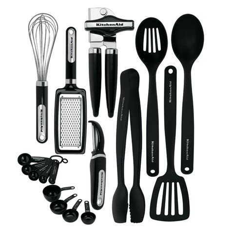Kitchen Utensils Gadgets List New Kitchenaid Cooking Utensils Tools Gadget Kitchen Set