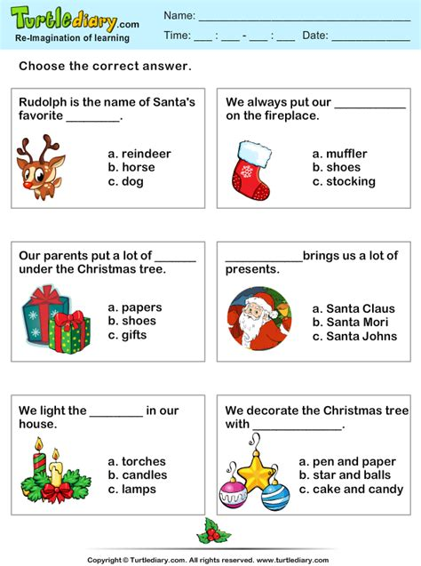 printable christmas quiz ks2 christmas quiz worksheet turtle diary