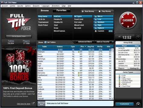 full tilt poker reviewed  exclusive bonus
