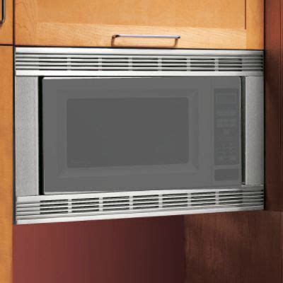 microwave trim kit for 24 cabinet whirlpool mk1154xps 24 quot microwave trim kit sears outlet
