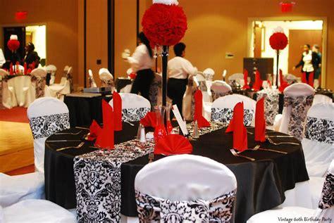 60th birthday party decoration ideas