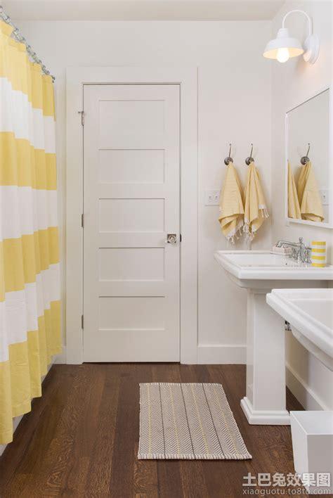 Cottage Bathrooms Ideas 白色简约卫生间门装修效果图欣赏 土巴兔装修效果图