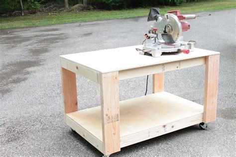 work bench with wheels 17 free workbench plans and diy designs