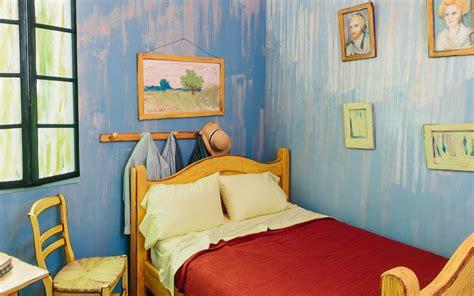 vincents bedroom vincent van gogh bedroom on airbnb travel leisure