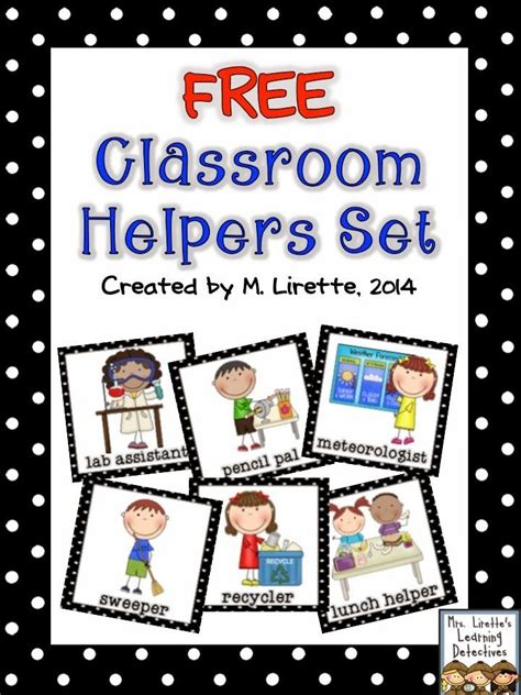 25 best ideas about classroom helpers on