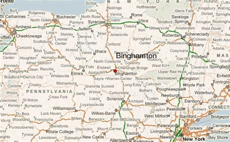 binghamton map binghamton location guide