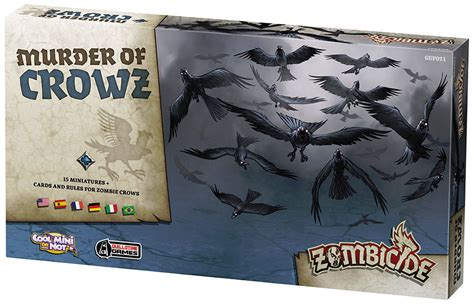 Zombicide Black Plague Board Original Boardgame buy boardgames zombicide black plague boardgame murder of crows archonia
