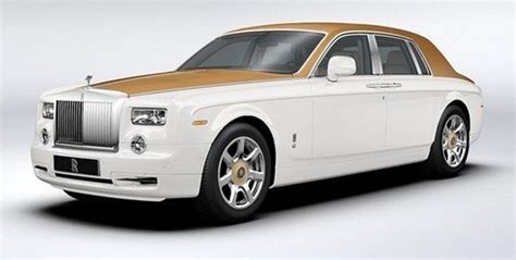 rolls royce gold and white ixo 1 43 rolls royce phantom diecast model car moc162