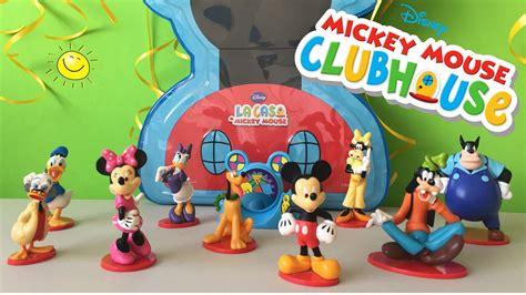 youtube casa mickey mouse la casa de mickey mouse juguetes de mickey mouse