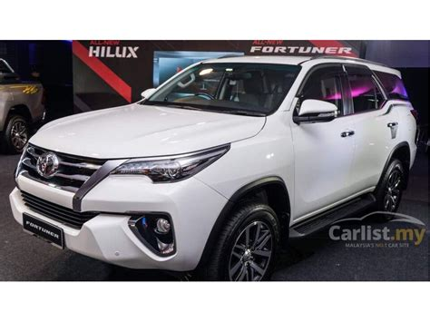Fortuner Ad 1301b List White toyota fortuner 2017 srz 2 7 in johor automatic suv white