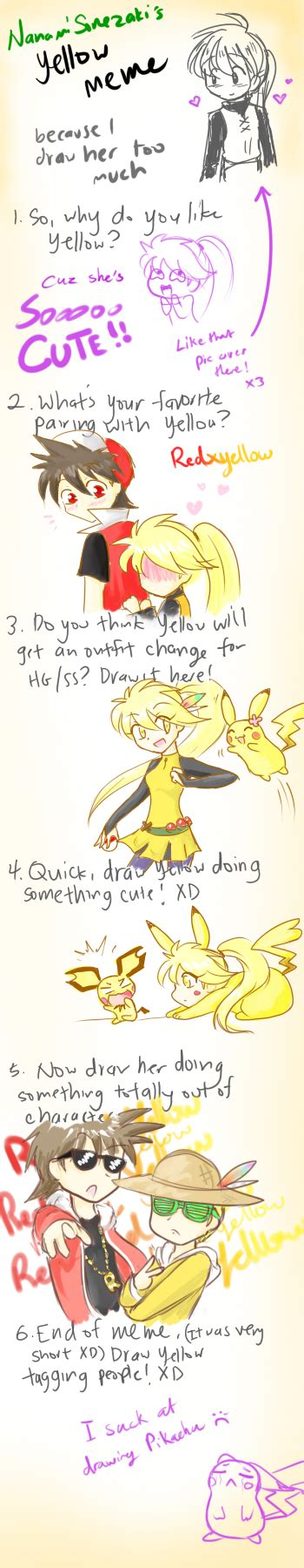 yellow meme by firehorse6 on deviantart