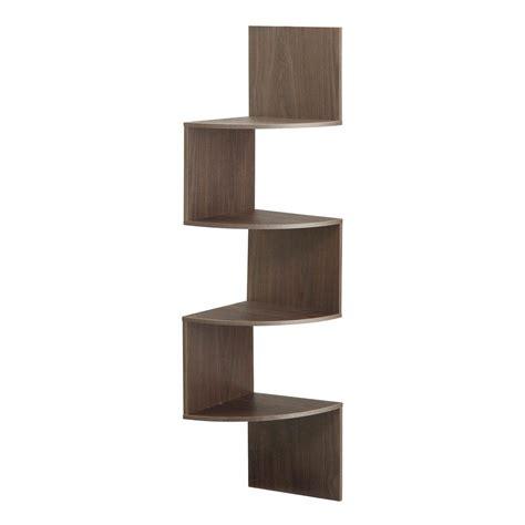 modern hanging shelves 4ft modern 4 tier corner wall shelf hanging storage