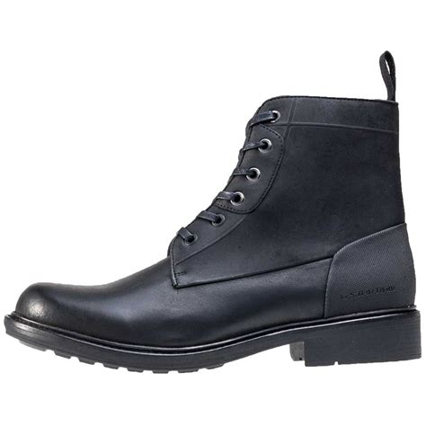 g myrow mens ankle boots in black