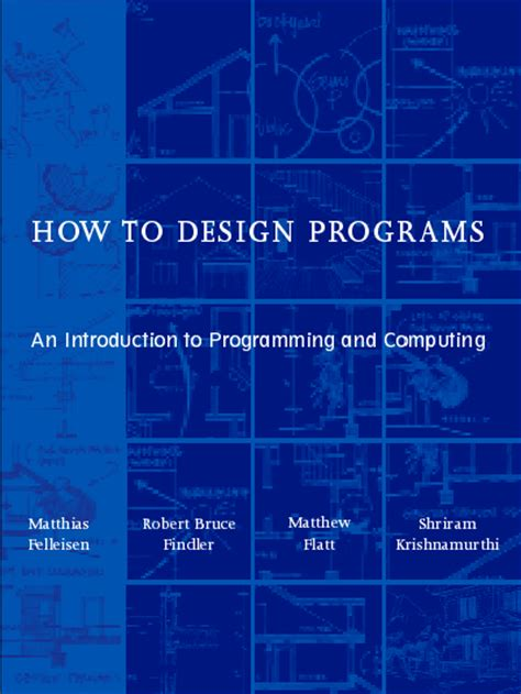 how to design software how to design programs