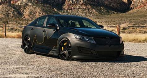 Matte Black Kia Optima Kia Unveils Justice League Cars Justice League Ugo