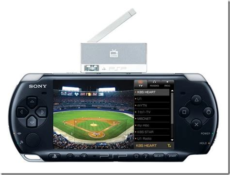 Tv Mobil Merk Sony korea gets a psp mobile tv tuner and a dj max bundle