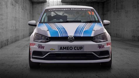 volkswagen race car volkswagen ameo cup race car is the car from