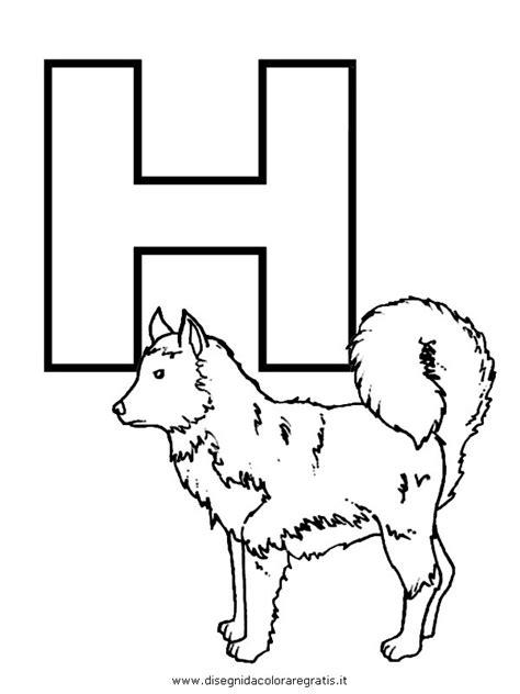 foto lettere alfabeto disegno alfabeto husky categoria alfabeto da colorare