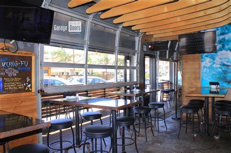 Bar Restaurant Doors Garage Doors Unlimited Gdu Restaurant Garage Doors