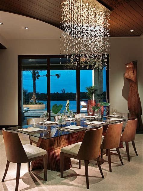 modern chandeliers dining room top 25 best dining room lighting ideas on
