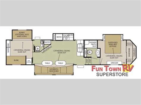 silverback 5th wheel floor plans new 2015 forest river rv cedar creek silverback 37bh fifth