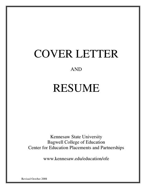 resume portfolio cover page resume ideas