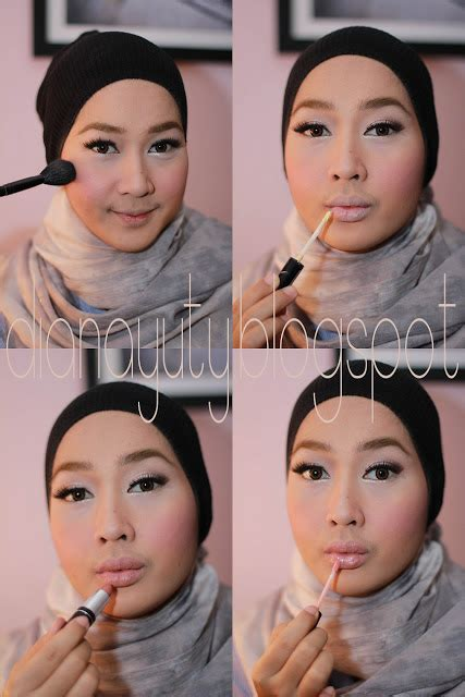 tutorial make up pakai wardah crimson rouge makeup crimson rouge makeup tutorial step by step