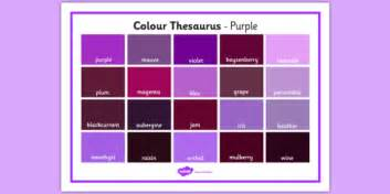 color thesaurus colour thesaurus word mat purple colour thesaurus colour