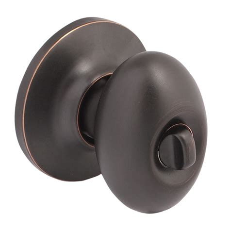 Door Knobs That Don T Turn Shop Yale Security New Traditions Terra Rubbed Bronze