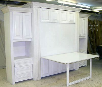 Murphy Bed And Table Combo Fold Craft Table Lair Murphy Beds