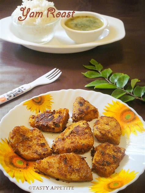 how to make yam fry senai kizhangu roast elephant yam