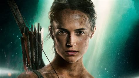 lara croft tomb raider alicia vikander  wallpapers hd
