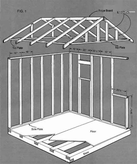 shed building plans storage building blueprints your simple guide to free