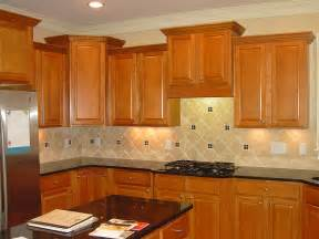 kitchen backsplash with cabinets kitchen kitchen backsplash ideas with maple cabinets
