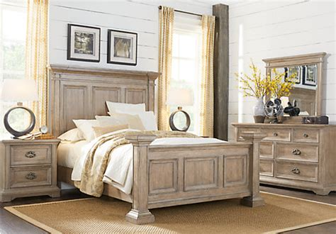 arrow furniture bedroom sets eric church highway to home arrow ridge hickory 5 pc bedroom panel traditional