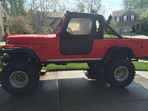 Jeeps For Sale Mobile Al 1983 Jeep Scrambler Cj8 258 I6 Manual For Sale Mobile Al