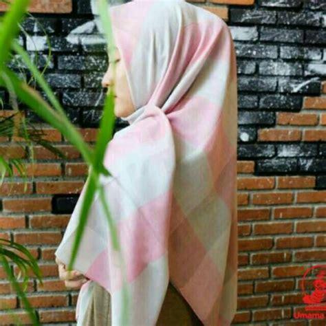 Umama Noor by Jilbab Syari Segiempat Noor Edge Umama Jumbo Kerudung