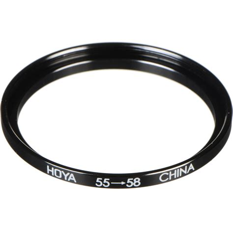 Step Up Ring 55mm 58mm hoya 55 58mm step up ring sur5558 b h photo
