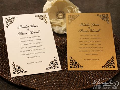 Traditional Wedding Stationery by Traditional Wedding Invitations Paper Panache