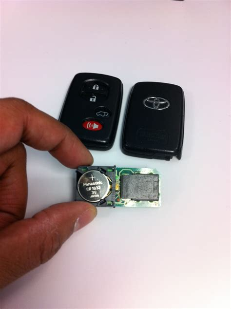 Toyota Key Fob Battery I Replaced The Battery In The Highlander S Key Fob Tales
