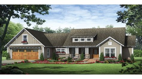 Ranch Home Plan by Craftsman Ranch House Plans Halstad Craftsman Ranch House