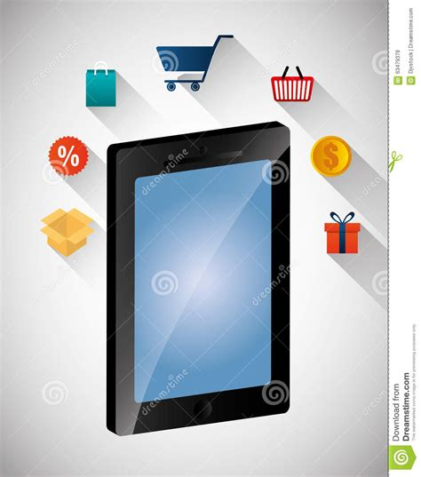 design multimedia application multimedia mobile applications stock illustration image