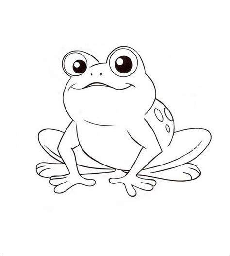 frog template frog template animal templates free premium templates