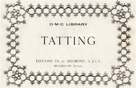 antique pattern library tatting allison s tatted lace antique patterns everywhere