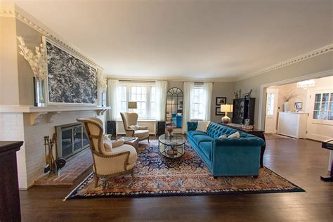 Blue Paint Wohnzimmer by Living Room And Foyer Refreshed Stisser